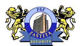 logo tvrtke P&F zastita